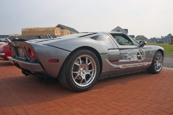 Drive Cancer Out Ford GT