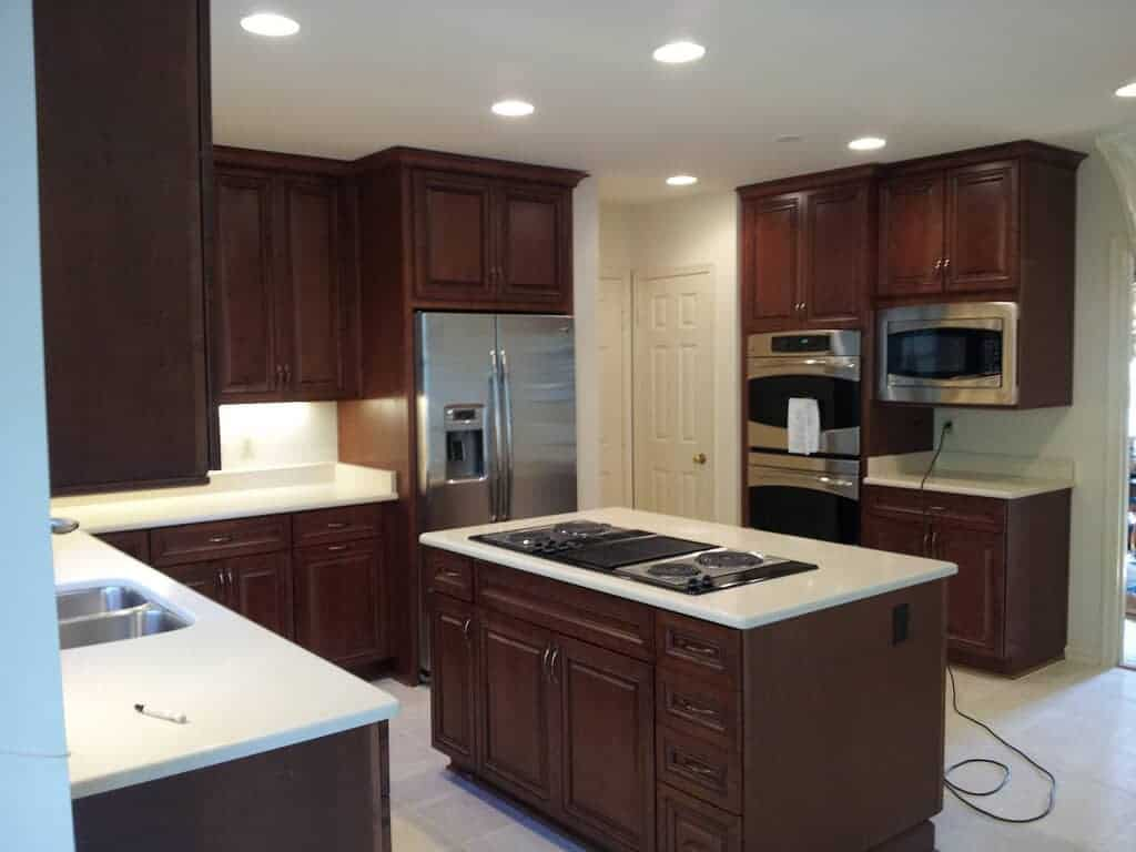 Kitchens are a popular area for home improvements.