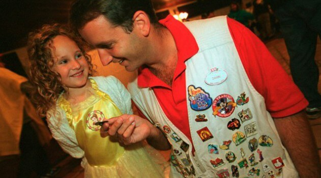 Easy pin trading is among the best-kept Disney World secrets!