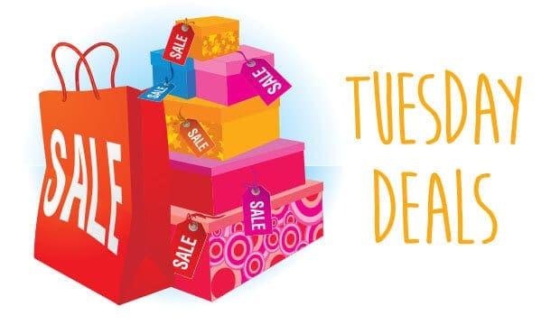 Tuesday deals for shopping