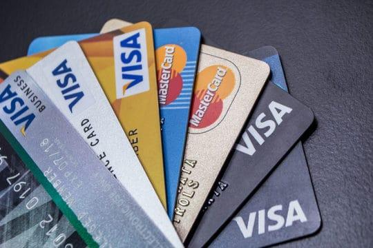Credit Card Visa Master Card Background