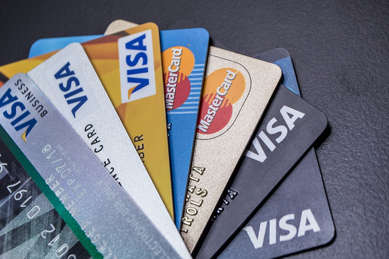Credit Card Visa Master Card Background