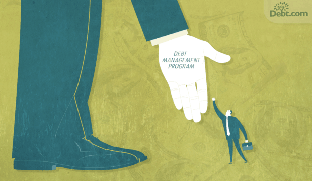 The helping hand of a debt management program