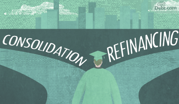 consolidation vs. refinancing