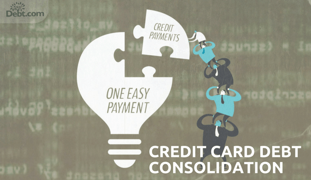 Credit Card Debt Consolidation: Credit Payments, One Easy Payment