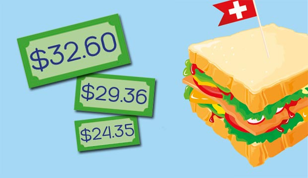 club sandwich prices