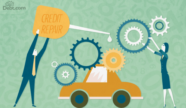 Repair your credit to get a car loan