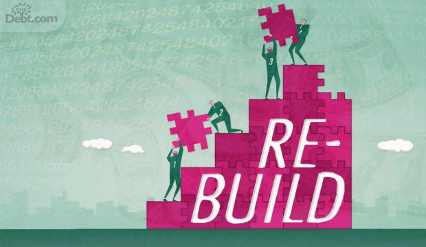 people building steps (illustrated)