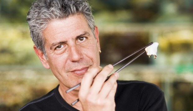 There's no such thing as a fair weather fan of Anthony Bourdain, right?