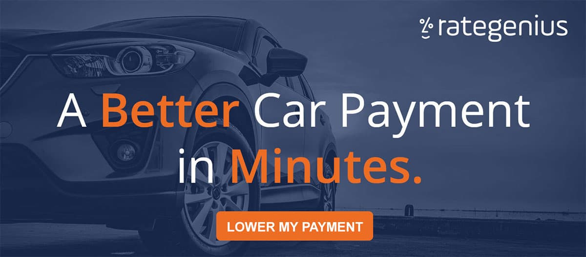 Ad: A Better Car Payment in Minutes. RateGenius