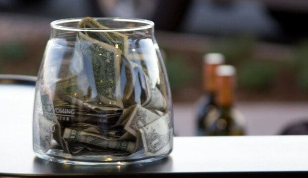 Here's the average tip in America.