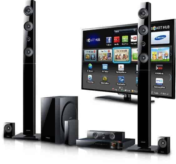 Samsung home smart theater system