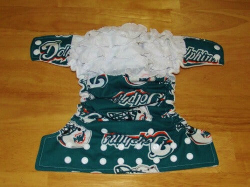 NFL team diapers