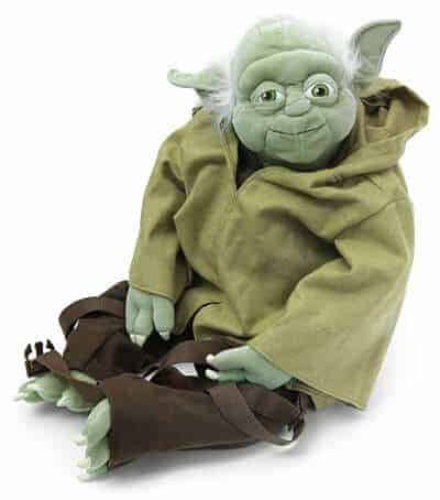 With this unique backpack you can give Star Wars character Yoda a piggy back ride