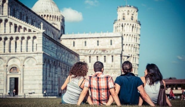 Pisa has cheap luxury hotels