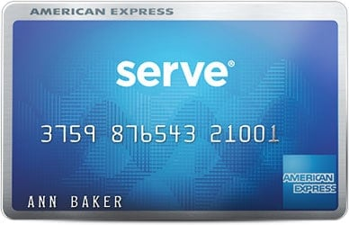 people who use cash or any other cards american express bluebird or serve - Kaiku Visa Prepaid Card