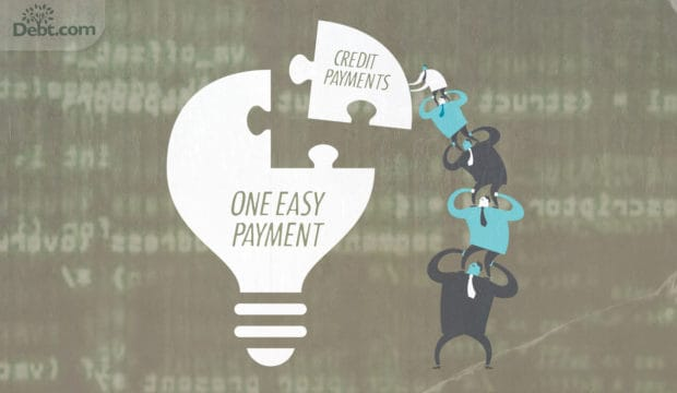 How to consolidate credit card debt payments