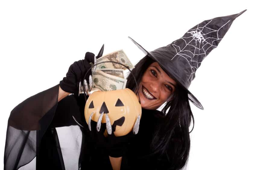 financial fears on Halloween