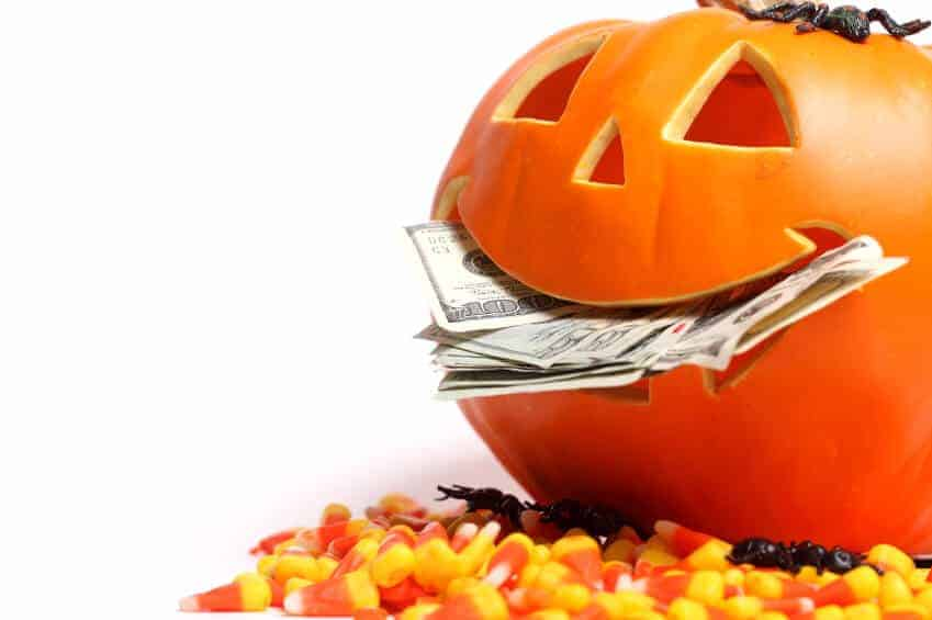 Halloween spending in 2014