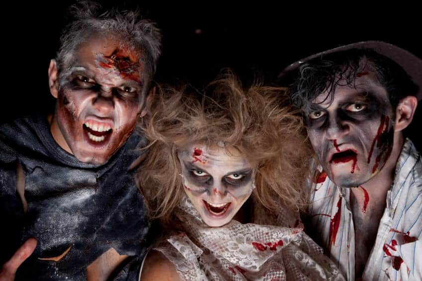How to make your own zombie costume