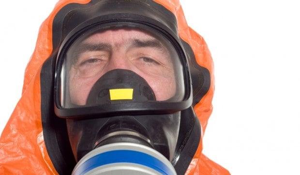 Hazmat suit for Ebola