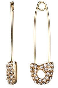 safety pin earring alternative