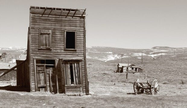 Buying a ghost town