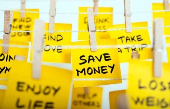 objetivos de ahorrar dinero para el nuevo año
