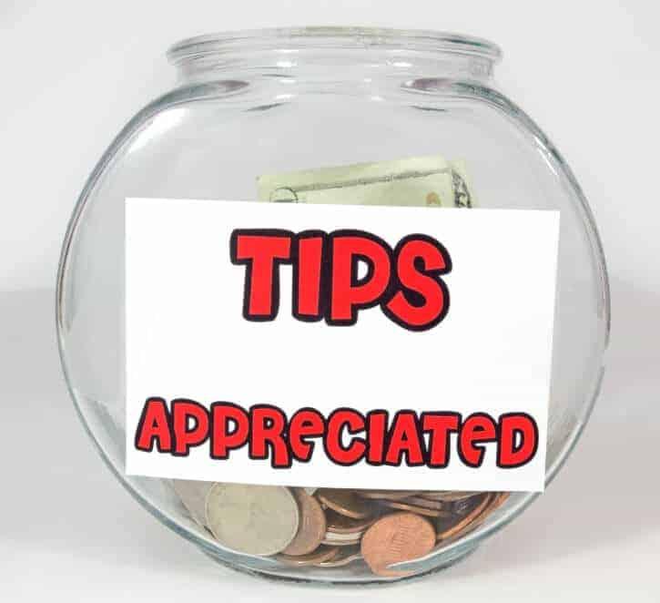 tips bowl
