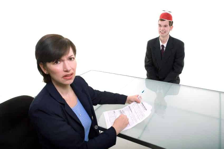 Job interview mistakes
