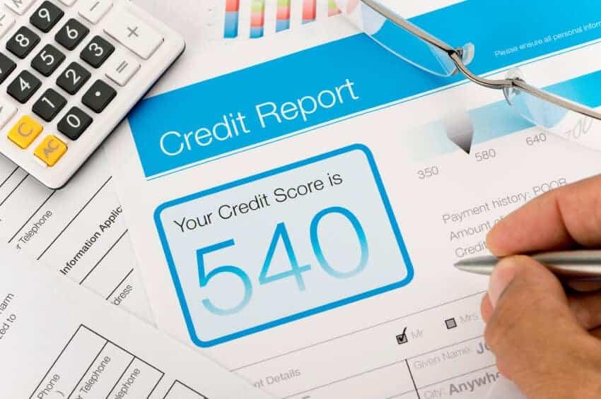 credit score improve