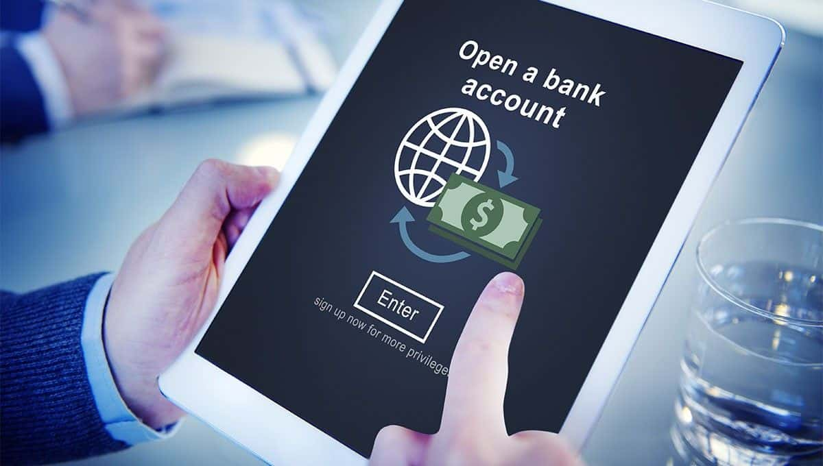 Open your own online bank account