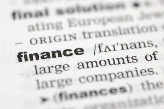 financial terms