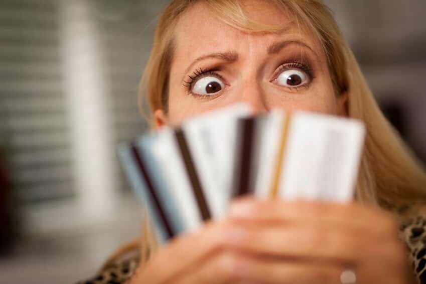 credit card debt free