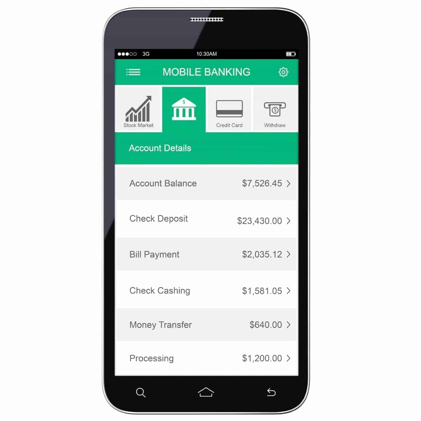 Mobile banking apps make money management easier