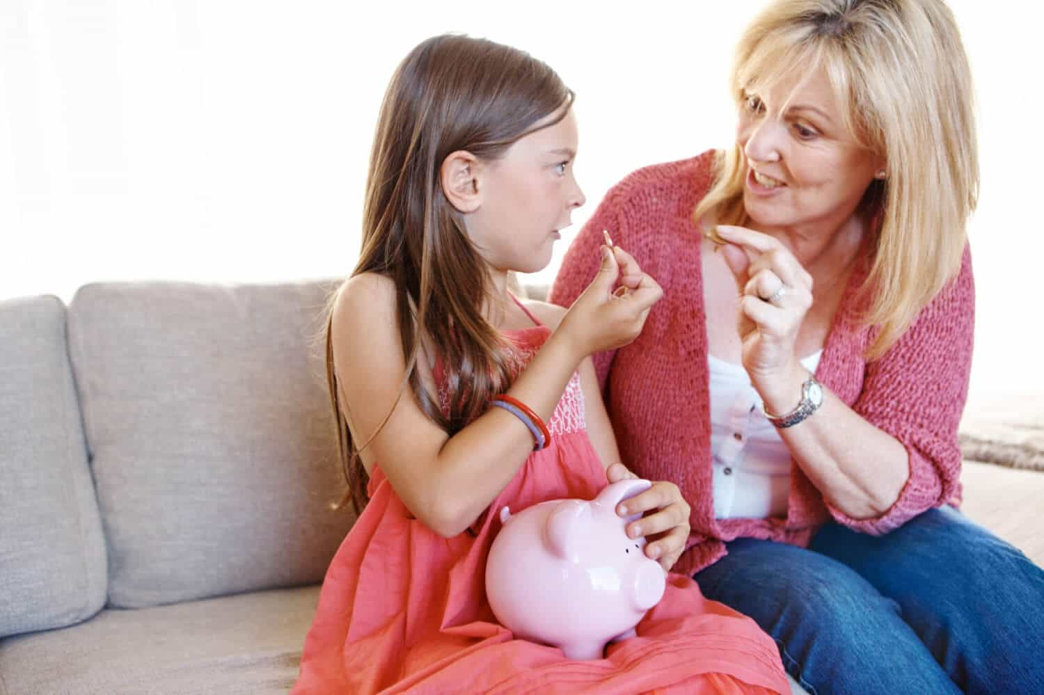 Teaching kids how to budget and save