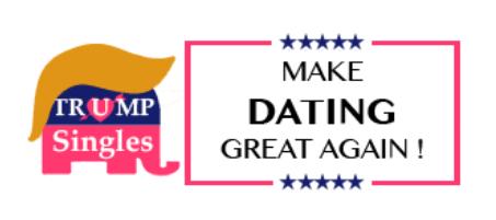 trump singles logo