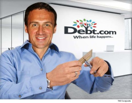 Ryan Lochte signs endorsement deal with Debt.com