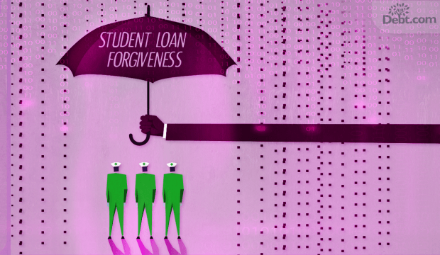 PSLF provides student loan forgiveness for nurses