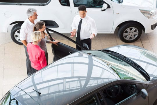 You can buy a car from a dealership even if you recently declared bankruptcy