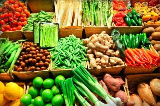 comer vegetales es más sano sin pagar más