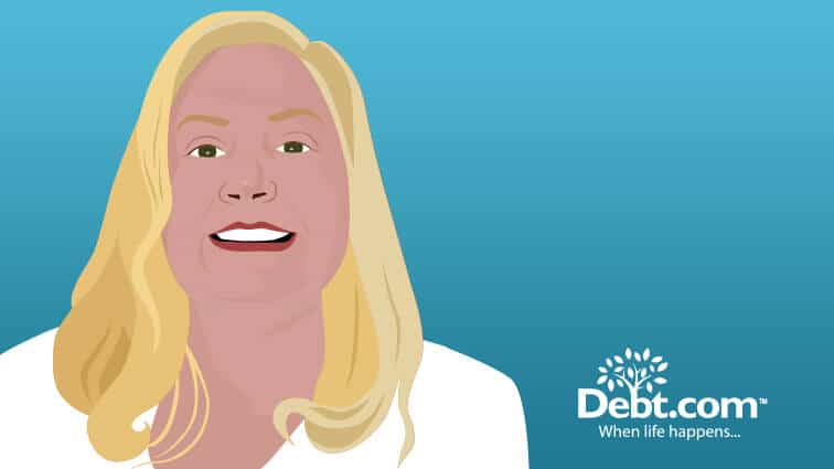 Debt.com Illustration by Ivan Benavides: #YourSecondChance Giveaway sweepstakes winner Susan Blackwell