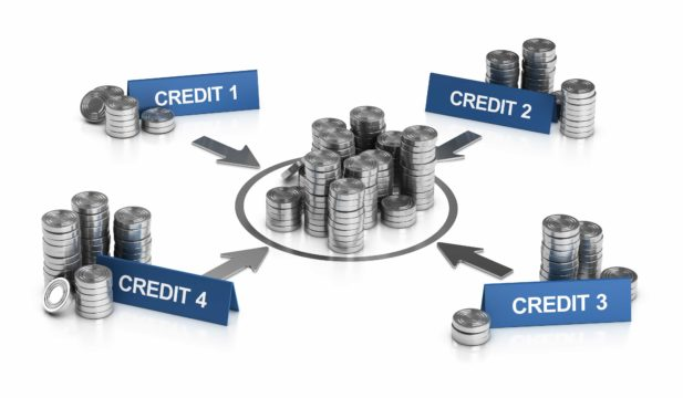 Credit card debt consolidation combines multiple debts into a single monthly payment