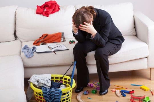 parents stressed about retirement