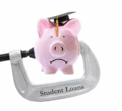 can't afford student loan payments