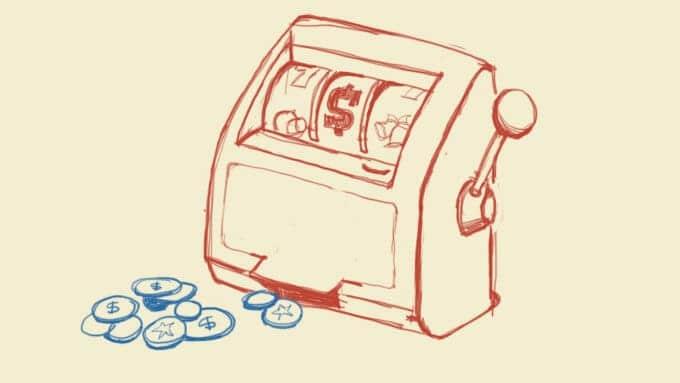 average spent on gambling