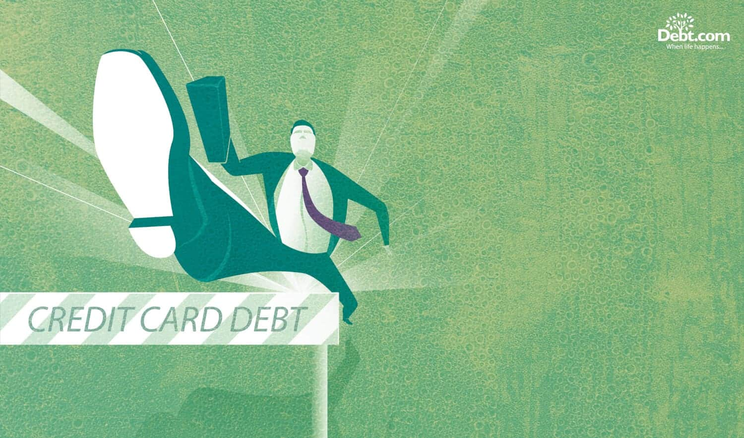 Overcome the hurdle of high interest rate credit card debt