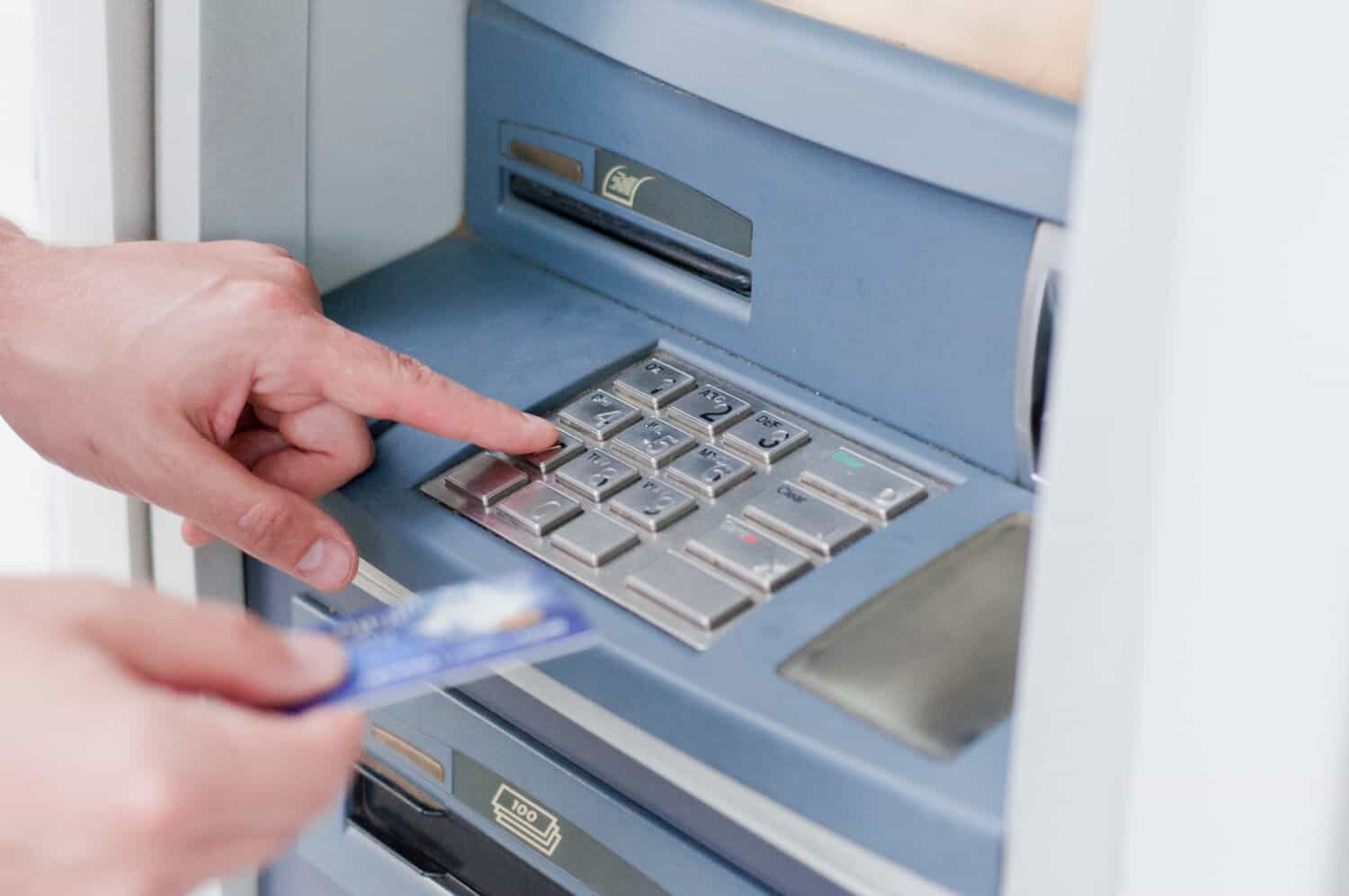 ATMs are just one method of banking in today's technology-driven world