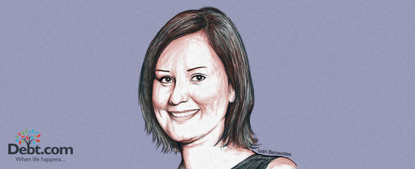 A portrait of Jennifer Asiaka, who shared her debt story with Debt.com
