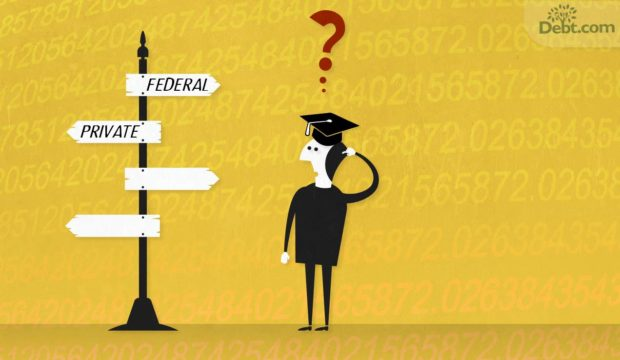 Be careful if you want to combine private and federal loans with private student loan consolidation